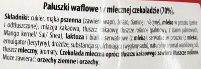 Kit Kat Bites - Składniki - pl
