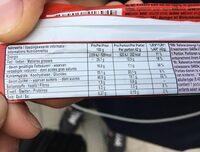 KitKat chunky caramel beurre salé - Voedingswaarden - de