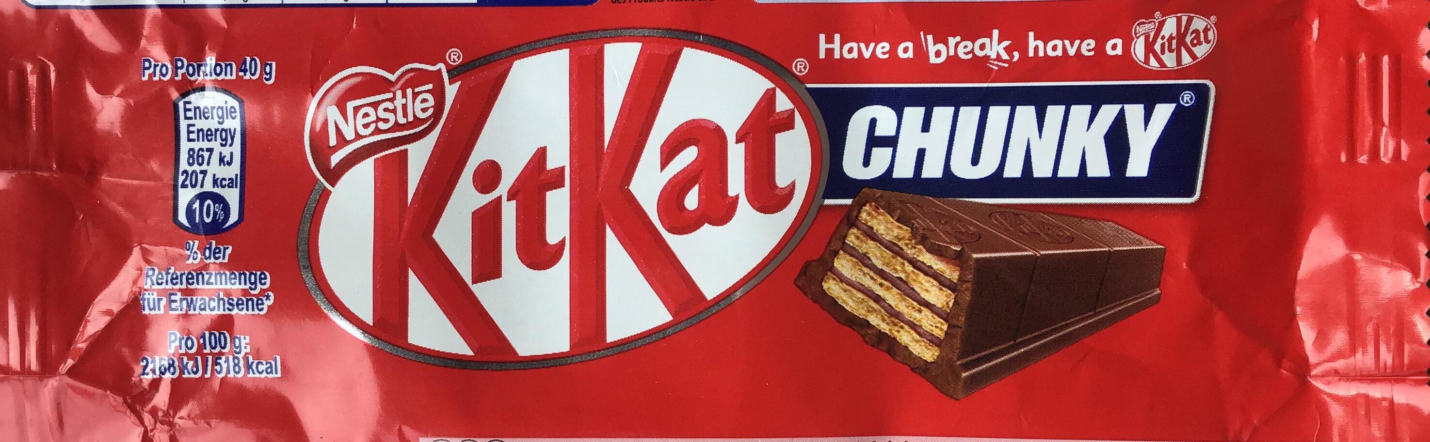 KitKat Chunky - Product - de