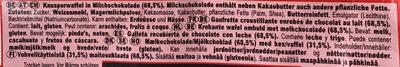 KitKat Chunky - Ingrediënten - de