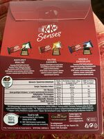 KitKat Senses - Nutrition facts - de