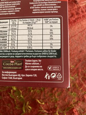 KitKat Senses - Recycling instructions and/or packaging information - de