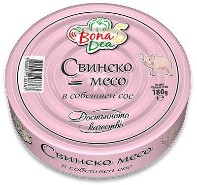 Pork in its own sauce - Product - en