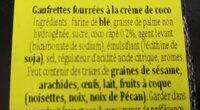 Credo - Ingrédients - fr