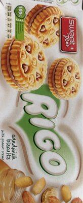 Biscuits fourrés au beurre d'arachide - Продукт - en