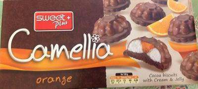 Camellia orange - Product