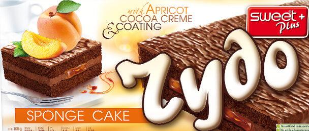 RYDO SPONGE CAKE APRICOT AND COCOA CREME - Product