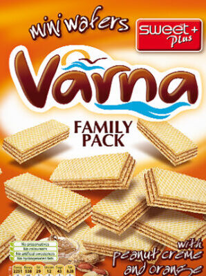 VARNA FAMILY PACK WITH PEANUT CREME AND ORANGE - Product - en