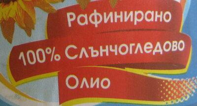 Рафинирано 100% слънчогледово олио - Ingrédients - bg
