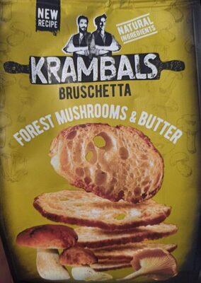 Bruschetta Forest Mushrooms&Butter - Produkt - cs