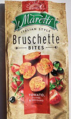 Bruschette chips paradicsommal olívával és oreganoval - Produit - hu