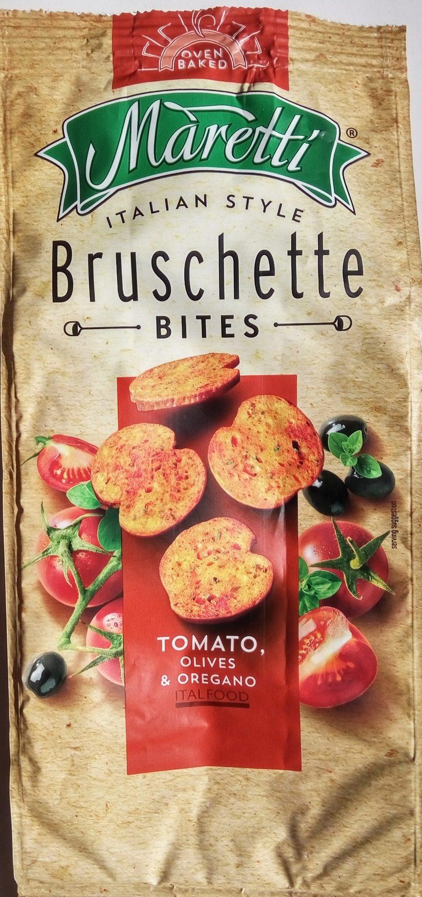 Bruschette chips paradicsommal olívával és oreganoval - Производ - sr