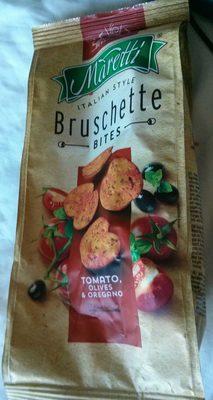 Bruschette bites tomato, olives & oregano - Producto