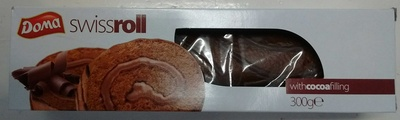 Swiss roll with cocoa filling - Produit - fr