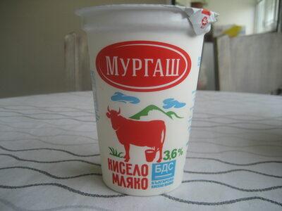 Кисело мляко - БДС 3,6% - Product