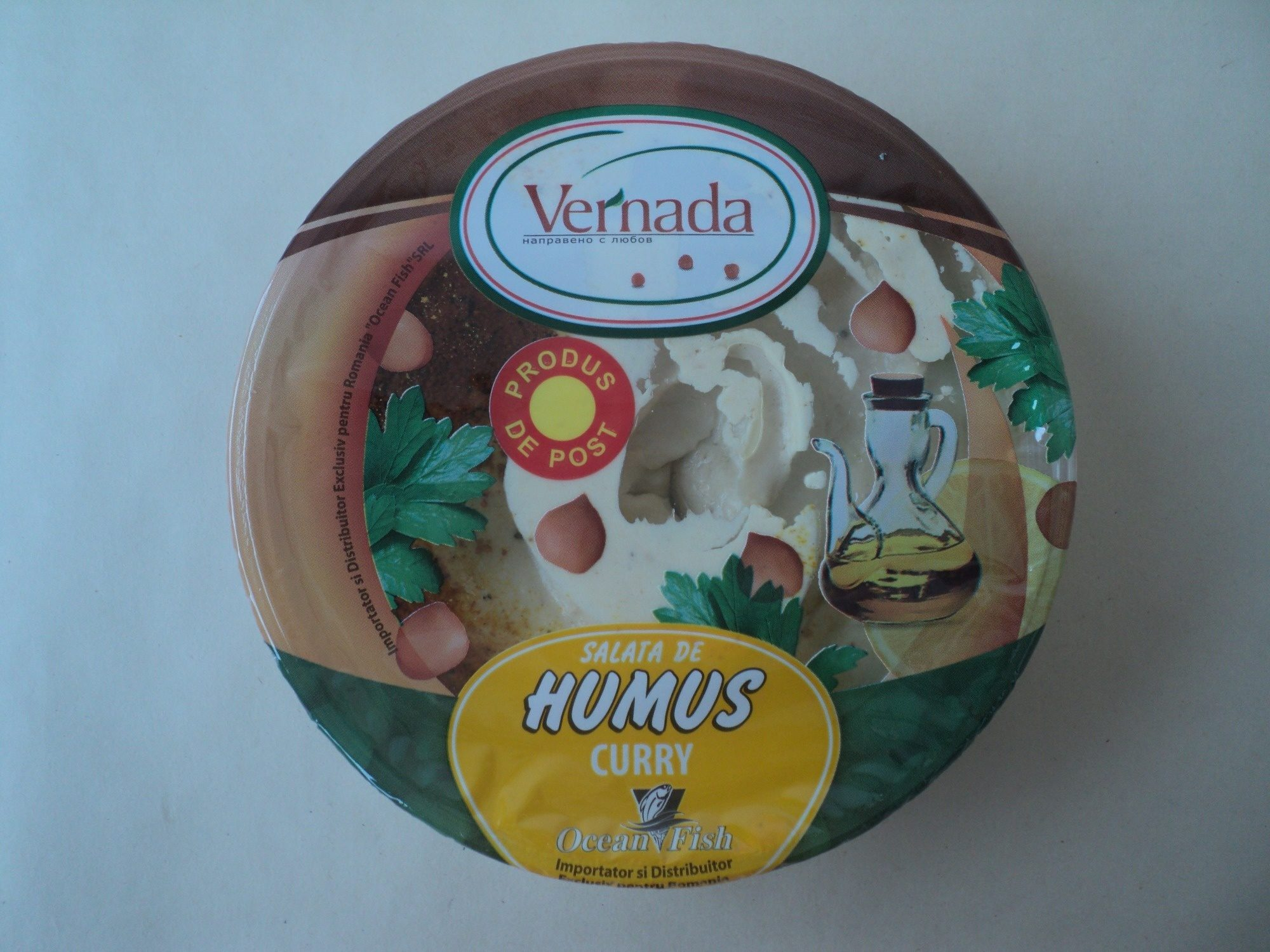 Vernada Salata de humus cu curry - Product - ro