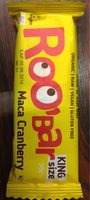 Roo Bar Maca Et Canneberge - Product - fr