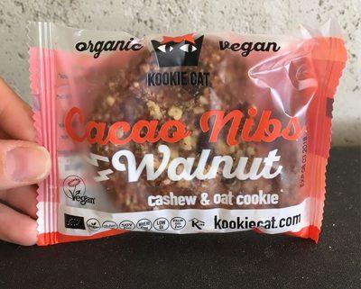 Cacao Nibs , Walnut (cashew & Oat Cookie) - Produit
