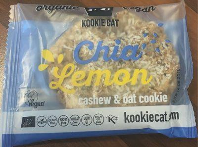 Chia Lemon Cahew & Oat Cookie - Product