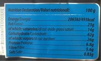 Brown Rice Cakes Milk Chocolate - Nutrition facts - fr