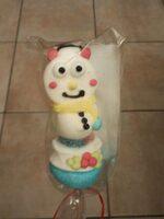 Brochette bonhome de neige - Produit - fr