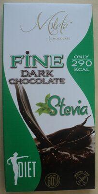 Milete Ciocolată neagră dietetică - Produit