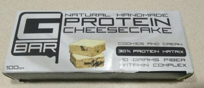 Natural handmade protein cheesecake