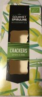 Crackers spiruline et olives - Product - fr