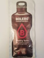 Bolero Cola-cerise - Nutrition facts