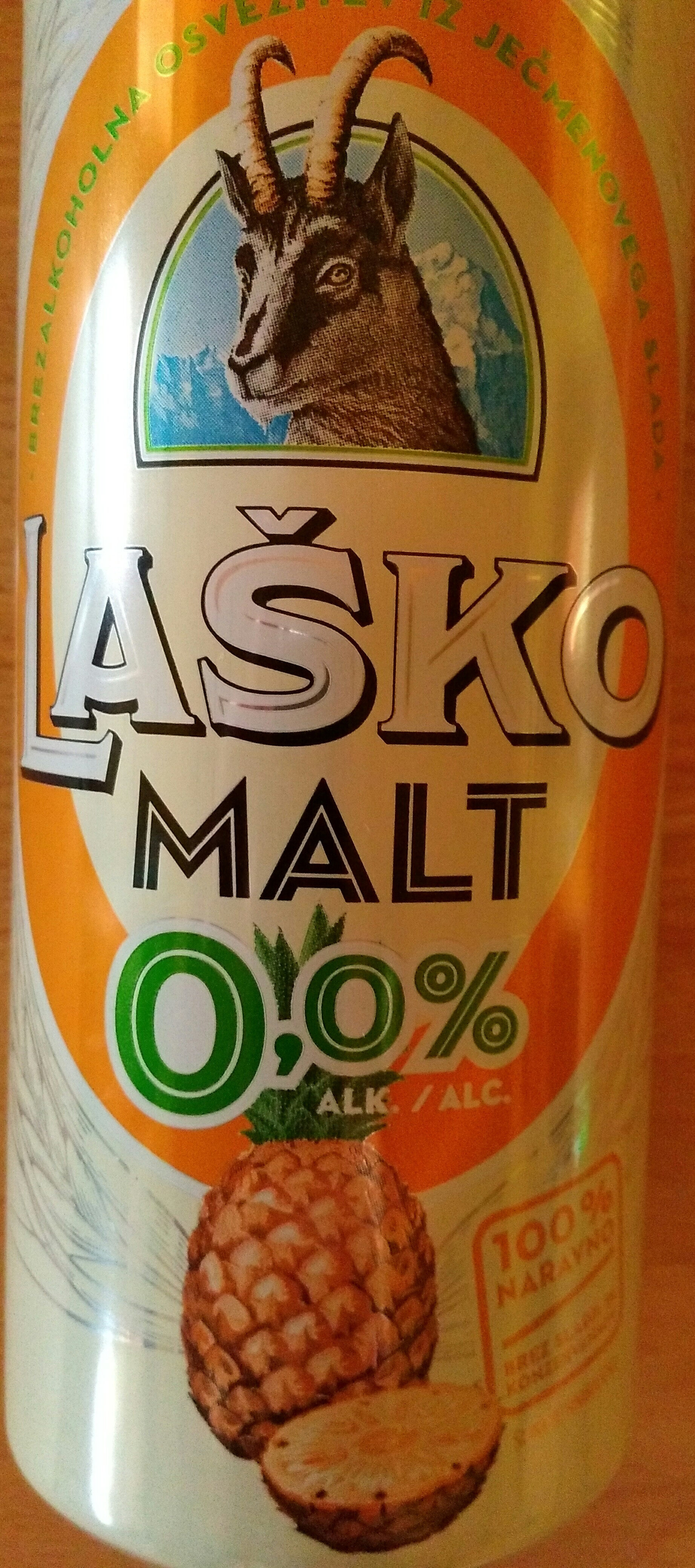 LAŠKO MALT ANANAS • PINEAPPLE - Product - sl
