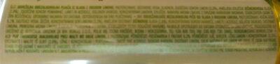 Laško MALT LIMONA • LEMON - Ingredients - sl