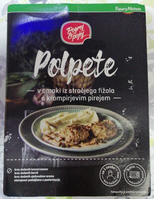 Polpeti v omaki iz stročjega fižola s krompirjevim pirejem - Product - sl