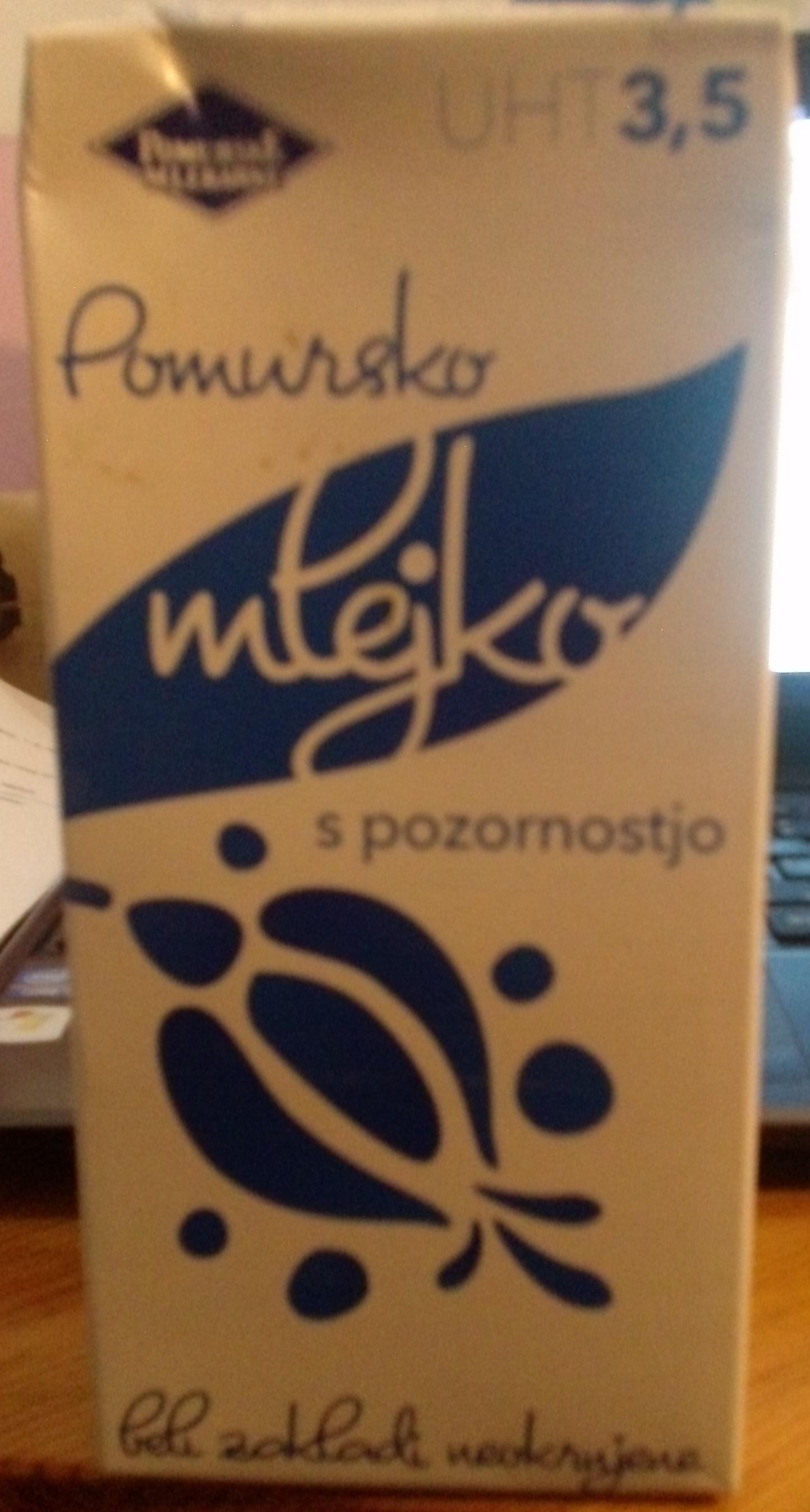 UHT Pomursko mlejko - Product - en