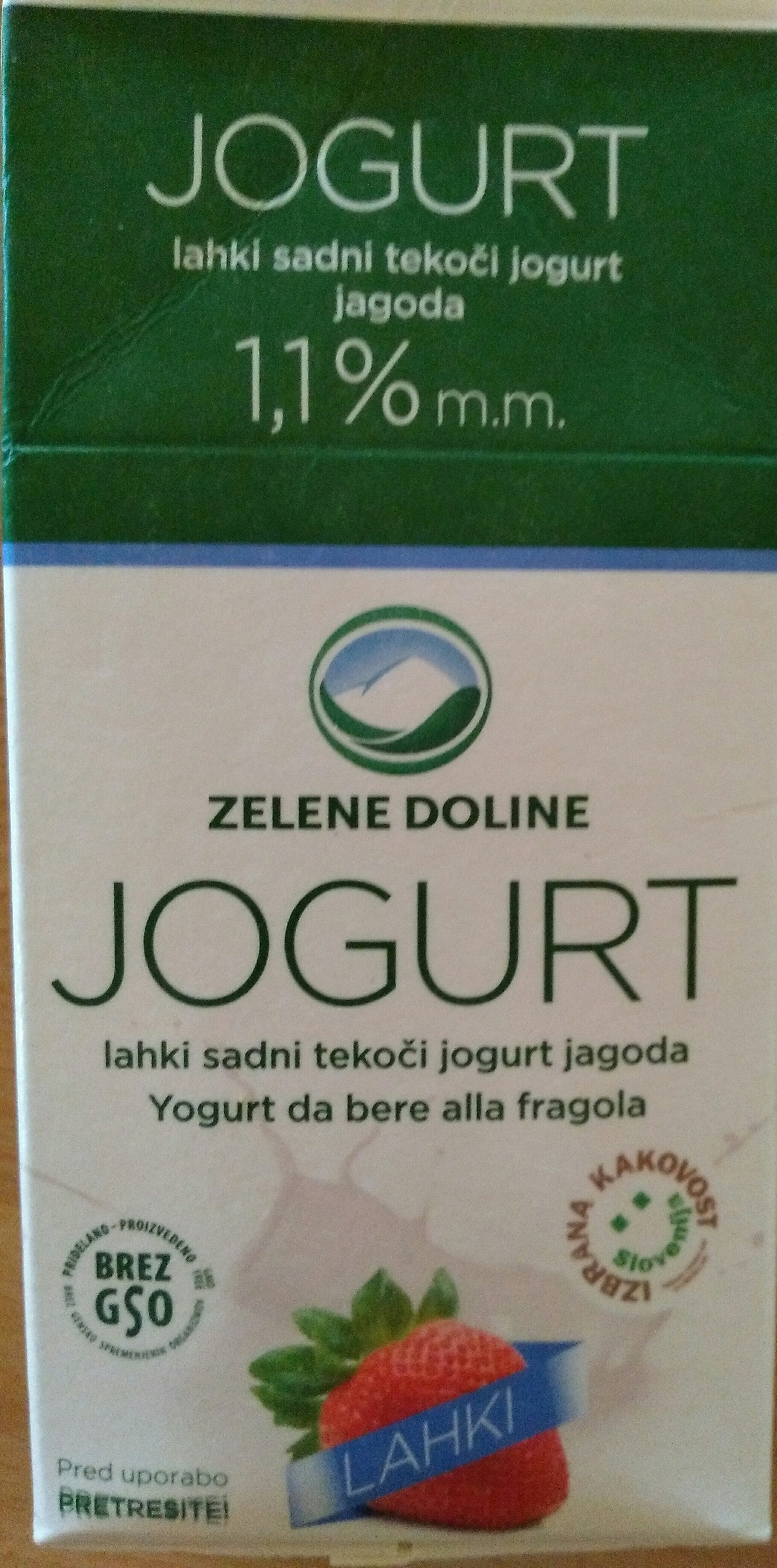 Jogurt jagoda - Product