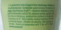 LCA Tekoči jogurt z okusom borovnice - Ingrédients