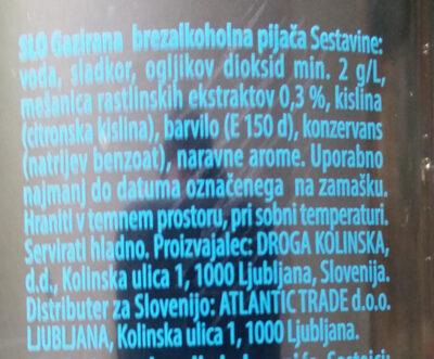 Cockta - Inhaltsstoffe - sl