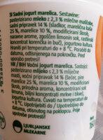 Jogurt Mu - marelica - Ingredients