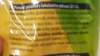 Čoko banana mini - Ingredients