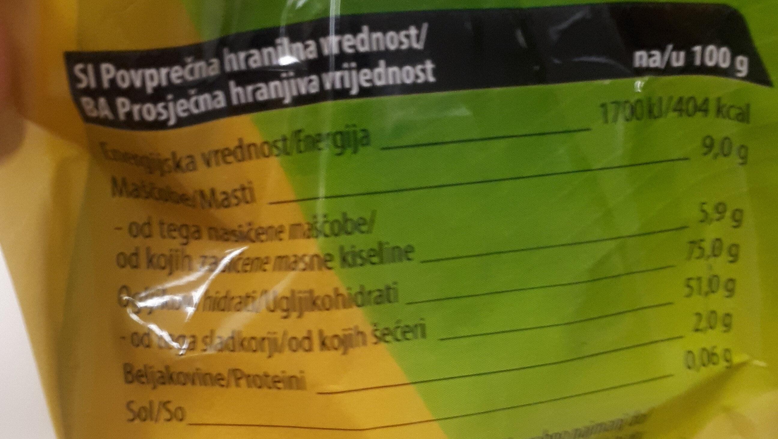 Čoko banana mini - Nutrition facts