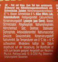 Poli cheese - Ingredients - fr