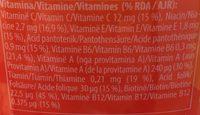 Multi Sola multivitamin - Ingrédients - fr