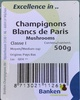 Champignons Blancs de Paris - Produit