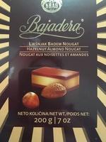 Bajadera - Производ - en