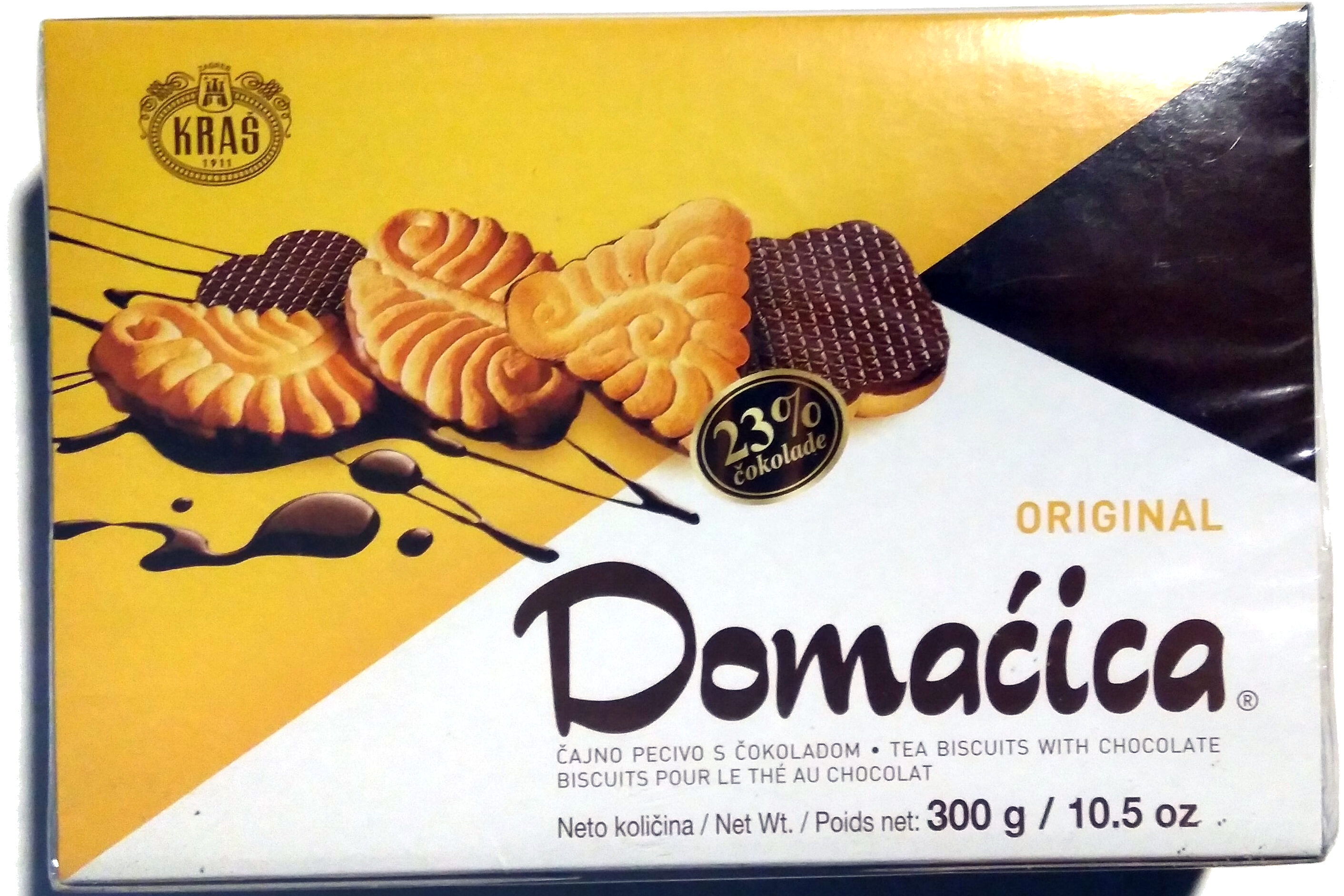 Kras Domaćica Tea Biscuits With Chocolate - Product - fi