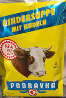 Podravka Rindersuppe Mit Nudeln - Product - de