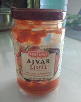 Ajvar, Ljuti - Produit - fr