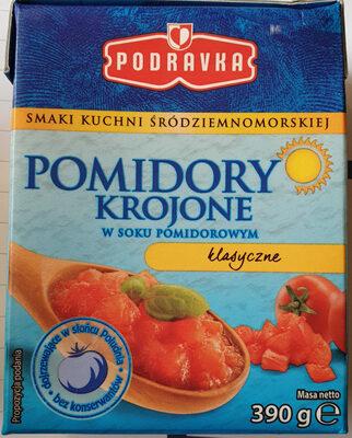 Pomidory krojone w soku pomidorowym - klasyczne - Produkt - pl