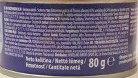 Tonhal növényi olajban - Ingrédients - hu