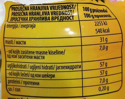 Lino Lada Duo Premium - Hranljiva vrednost - sr