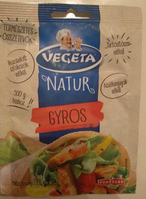 Natúr Gyros - Produit - hu